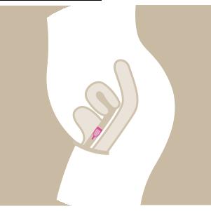 La coupe menstruelle mode d emploi gyn co - Insertion coupe menstruelle ...